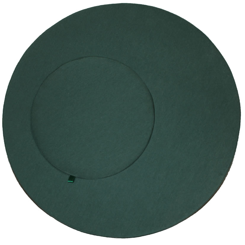 Mundillo redondo de doble círculo