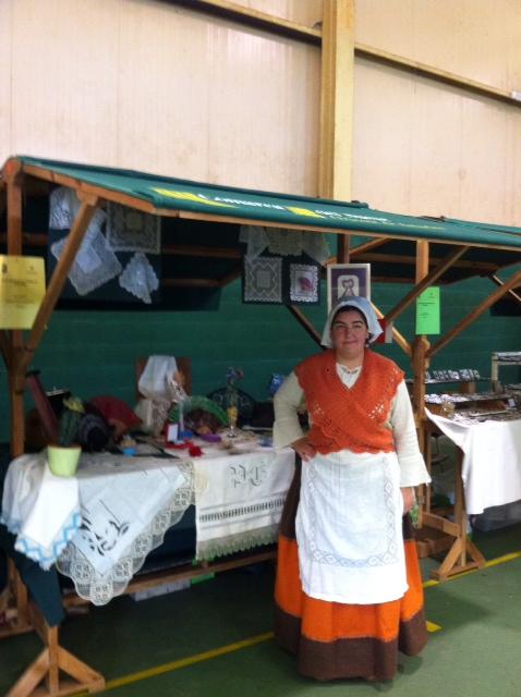 Bolillos en la XXII Semana de les Fabes en Colunga