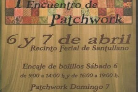 Próximo encuentro de encaje de bolillos el 6 de abril, este año con la novedad de que el domingo 7 también hay una exposición de patchwork